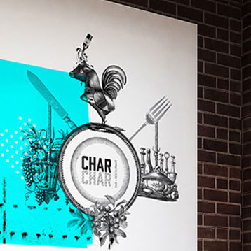 char char restaurant - case study